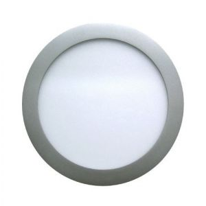 Image de Lampesecoenergie Spot Encastrable LED Downlight Panel Argent 7W Blanc Neutre 4200-4500K