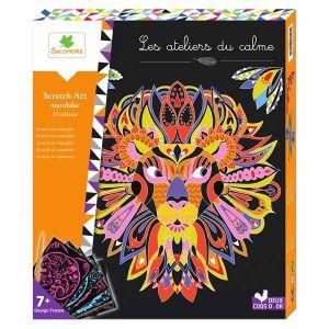 Sycomore Les ateliers du calme Scratch Art Mandalas