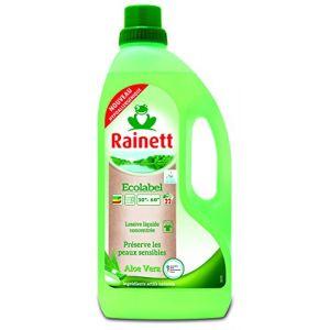 Rainett Lessive Ecologique Liquide Peaux Sensibles Aloe Vera 1,5L