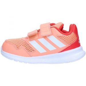 Adidas Altarun Cloudfoam, Sneakers Basses bébé Fille, Orange Chacor/Ftwwht/Reacor, 25 EU