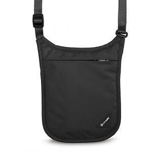 PacSafe Coversafe V75 noir Pochette tour de cou