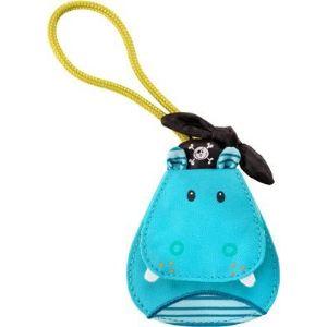 Lilliputiens Etiquette à bagage Arnold l'hippopotame pour enfant