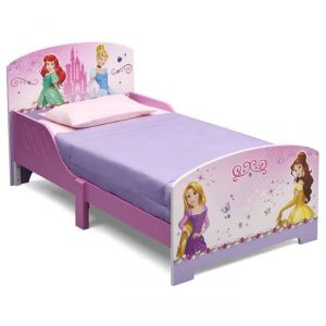Delta Children Lit en bois Disney Princess (70 x 140 cm)