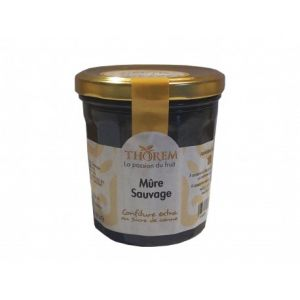Thorem Confiture de Mûre sauvage pot 375gr
