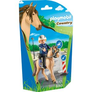 Playmobil 9260 Country - Policier avec cheval