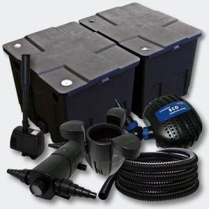 Kit de filtration de b in 60000l Pompe Stérilisateur 18W Fontaine