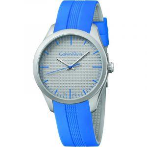 Calvin Klein Montre Bracelet Mixte à Quartz Analogique Caoutchouc k5e51fv4