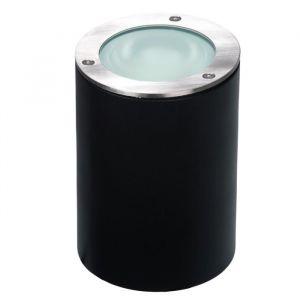 Akanua Spot rond électrique à enterrer - aluminium / inox - 230V - D12cm LUNO