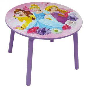 Jemini Table ronde en bois Disney Princesses 60 cm