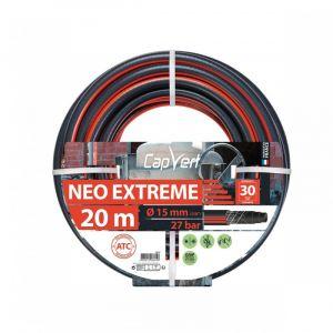 Cap Vert Tuyau d'arrosage Néo Extrême - Diamètre 15 mm - Longueur 20 m