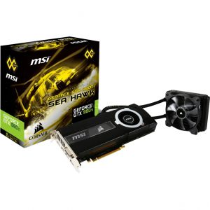 MSI V323-020R - Carte graphique Geforce GTX 980 Ti SEA HAWK 6 Go GDDR5 PCI Express 3.0 x16