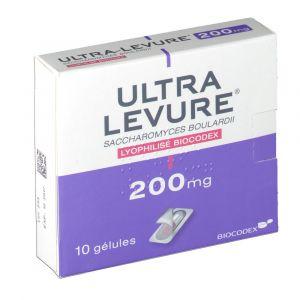 Biocodex Ultra Levure 200 mg - 10 Gélules