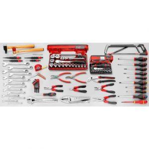 Facom Sélection d'outils pour mécanique générale 122 outils(CM.110A)