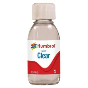 Humbrol Vernis mat transparent 125 ml