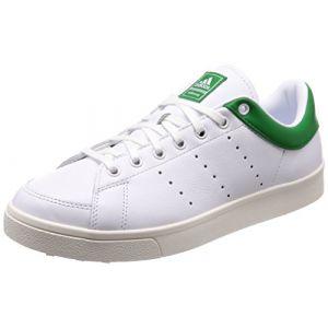 Adidas Adicross Classic-Leather, Chaussures de Golf Homme, Blanc  (White/Green F33781), 40 1/3 EU - Comparer avec Touslesprix.com