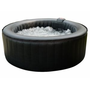 B-HAPPY - Spa rond gonflable pour 4 adultes