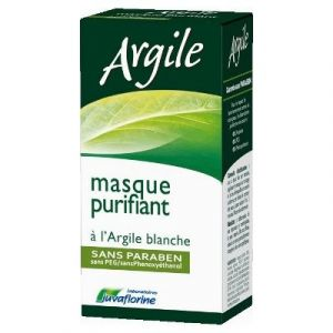 Laboratoires Juvaflorine Argile - Masque purifiant à l'Argile blanche sans paraben