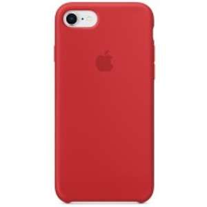 Apple Coque silicone rouge pour iPhone 8 / 7