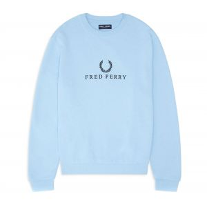 Fred Perry Sweat, Bleu - Taille L