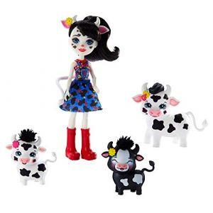 Mattel Coffret famille animaux Enchantimals