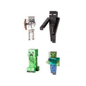 Jazwares Minecraft pack 4 figurines Mobs 8 cm