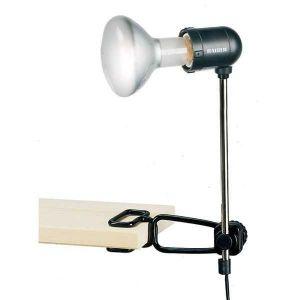Kaiser Support lampe E27 sur tige à fixation par pince - KAI3120