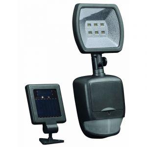 Duracell Lampe exterieure LED Solaire SL001DU avec Détecteur de mouvement Noir