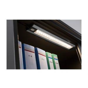 Paulmann Luminaire pour armoire LED Trix 4.2 W blanc chaud aluminium (mat) 6.5 cm