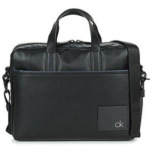 Calvin Klein Porte document Jeans DIRECT SLIM LAPTOP BAG Noir - Taille Unique