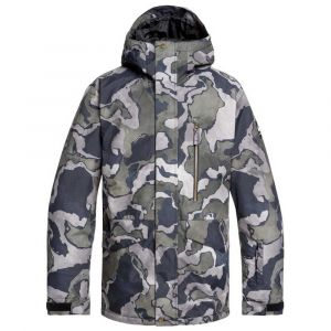 Quiksilver Vestes Mission Printed - Black Sir Edwards - Taille M