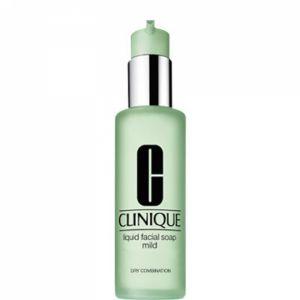 Clinique Savon visage liquide doux peau sèche à mixte