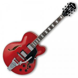 Ibanez AFS75T Artcore Transparent Cherry Red guitare hollow body