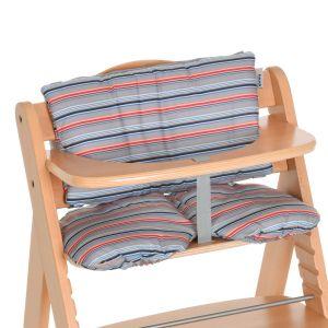 Hauck Assise chaise haute Multi Stripe Grey