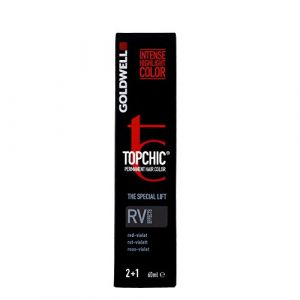 Goldwell Color Topchic Effects Permanent Hair Color RV Rouge Violet 60 ml