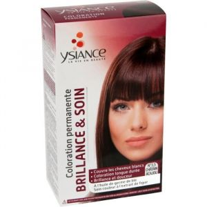 Ysiance Coloration Permanente Brillance et Soin Chatain Acajou N°3.5