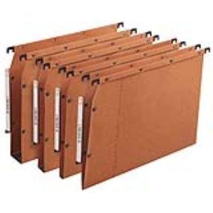 L'Oblique AZ Boîte de 25 dossiers suspendus Oblique pour armoire AZV (fond : 50 mm)
