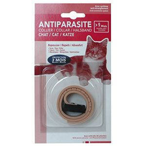 Agrobiothers Collier Antiparasitaire pour Chat