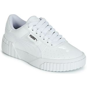 Puma Baskets basses enfant CALI PATENT JUNIOR blanc - Taille 36,37,38,39
