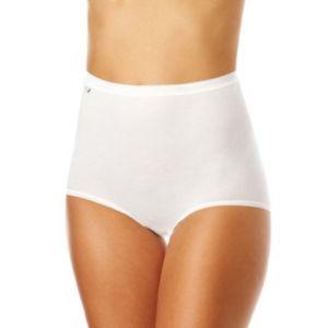 Sloggi Basic+ Maxi, Culotte Gainante Femme, Blanc, Taille