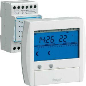 Hager GESTIONNAIRE D ENERGIE CONFORT 2 ZONES 7Jours
