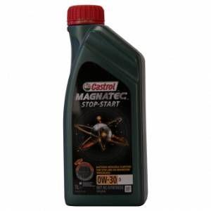 Castrol Magnatec Arrêt-Démarrage 0W-30 D 1 Litres Boîte