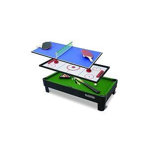 table de jeux 3 en 1 comparer 597 offres. Black Bedroom Furniture Sets. Home Design Ideas