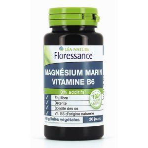 Floressance Magnésium Marin Vitamine B6 - 60 gélules