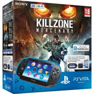 Sony PS Vita Wi-Fi + Killzone Mercenary + Carte Mémoire 8 Go