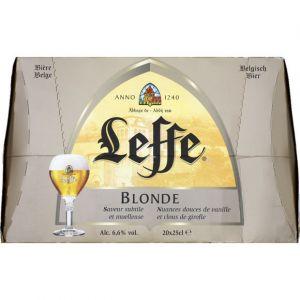 Leffe Bière blonde - Le pack de 20 x 25cl