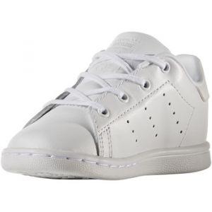 Adidas Stan Smith, Sneakers Basses Mixte Bébé, Blanc (Footwear White/Footwear White 0), 22 EU