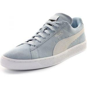 Puma Suede Classic+, Sneakers Basses Mixte Adulte, Bleu (Blue Fog White 06), 44 EU