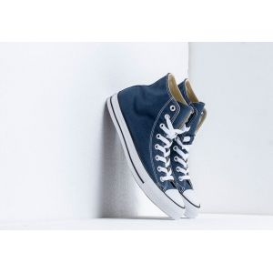 Converse Chaussures casual unisexes Chuck Taylor All Star Hautes Toile Bleu marine - Taille 45