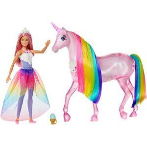 Mattel Et sa licorne lumières magiques