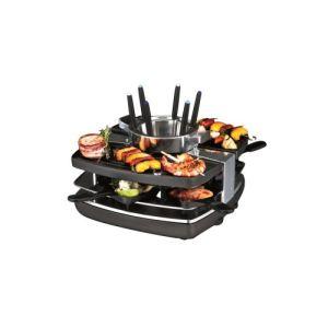 Gastroback 42559 - Set raclette, grill et fondue pour 6 personnes